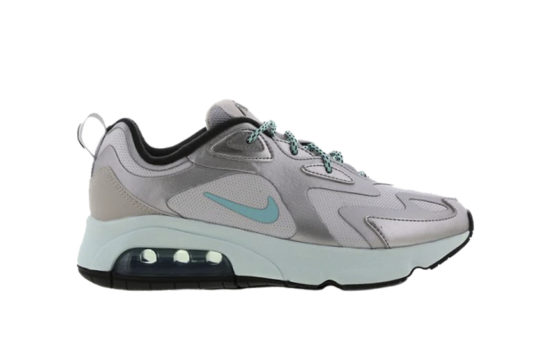 Nike Air Max 200 Silver Blue Womens ct2544-001