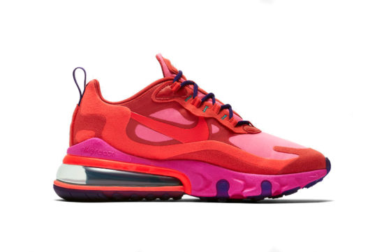 Nike Air Max 270 React Habanero Red Pink at6174-600