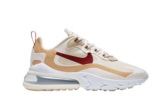 Nike Air Max 270 React Red Beige at6174-700