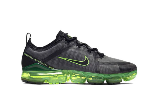 Nike Air VaporMax 2019 Black Green ar6631-011