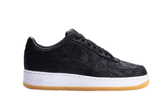 CLOT x fragment x Nike Air Force 1 Black cz3986-001