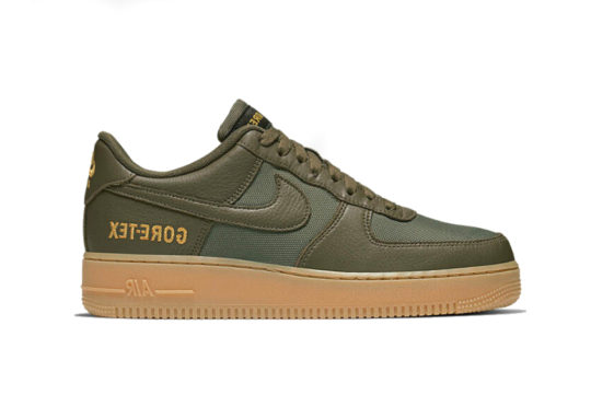 GORE-TEX x Nike Air Force 1 Low – Medium Olive ck2630-200