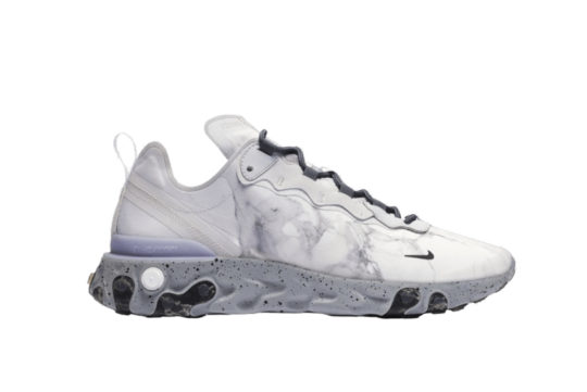 Kendrick Lamar x Nike React Element 55 Pure Platinum cj3312-001