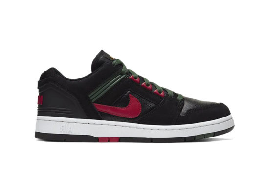 Nike SB Air Force 2 Low Black Green ao0300-002
