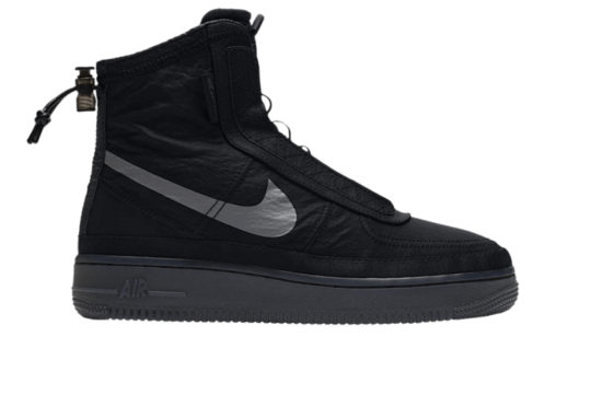 Nike Womens Air Force 1 Shell Black bq6096-001