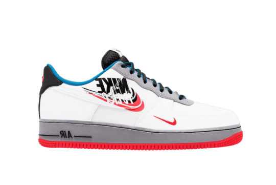 Nike Air Force 1 07 LV8 White Grey Ember ct1620-100