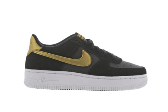 Nike Air Force 1 GS Black Gold ct9130-001