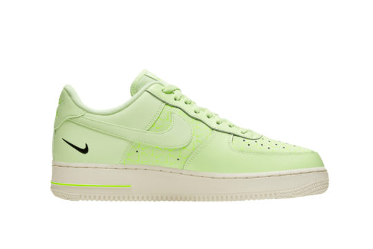 Nike Air Force 1 Low Just Do It Neon Yellow ct2541-700