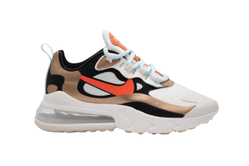 Nike Air Max 270 React Metallic Red Bronze ct3428-100