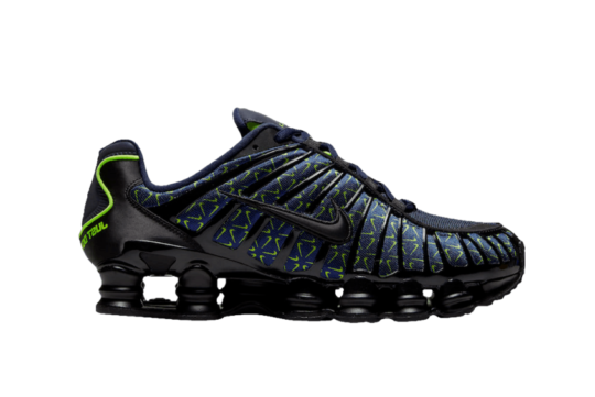 Nike Shox TL Mini Swoosh Black Navy ct5527-400