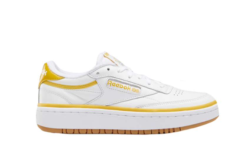 Reebok Club C Double White Orange eg9916