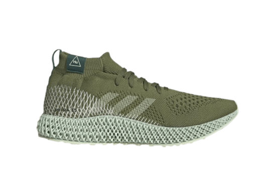 Pharrell Williams adidas 4D Runner Khaki fv6334