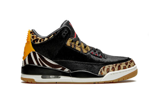 Air Jordan 3 Retro SP Animal Black/Dark Mocha ck4344-002
