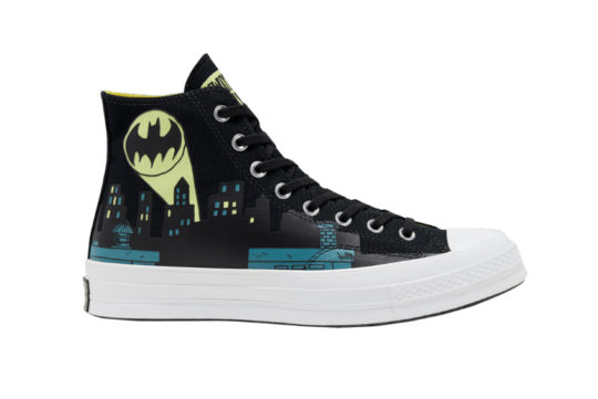Batman x Chinatown Market x Converse Chuck 70 High Top Black 167511c