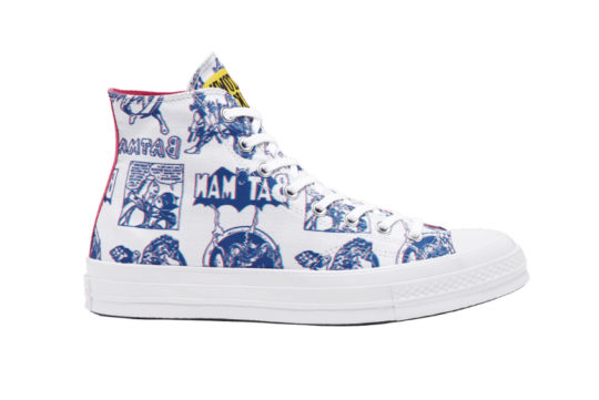Batman x Chinatown Market x Converse Chuck 70 High Top White 167512c