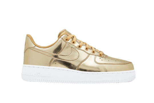 Nike Air Force 1 Low Metallic Gold cq6566-700