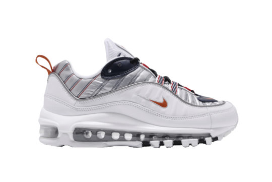 Nike Air Max 98 Premium White Grey cq3990-100