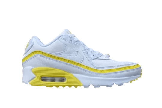 UNDEFEATED Nike Air Max 90 White Yellow cj7197-101