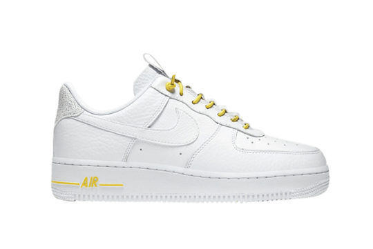 Nike WMNS Air Force 1 '07 LX Chrome Yellow 898889-104