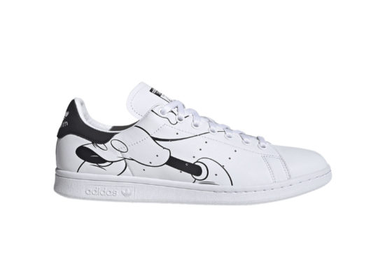 Mickey Mouse adidas Stan Smith White Black fw2895