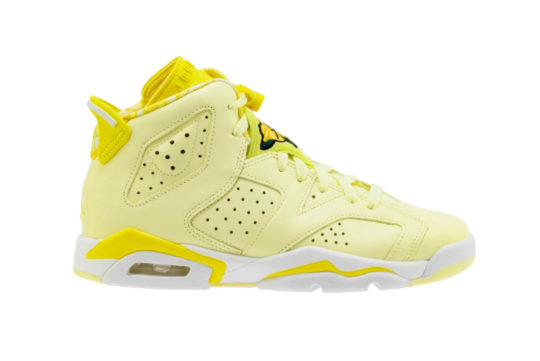 Air Jordan 6 GS Floral Yellow 543390-800