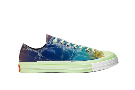 Pigalle Converse Chuck Taylor 70s Ox Blue Multi 165747c