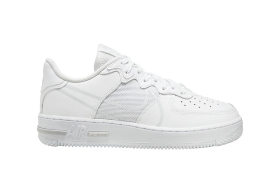 Nike Air Force 1 React White ct1020-101