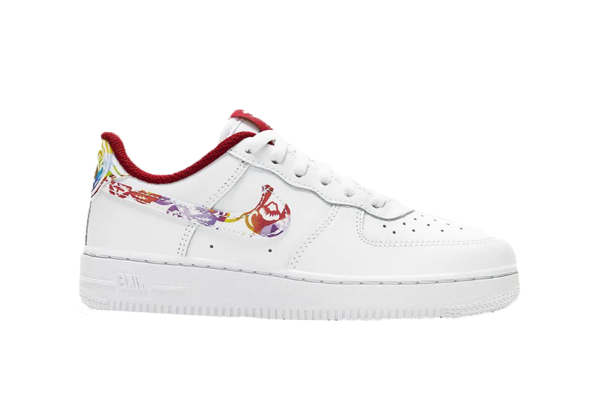 Nike Air Force 1 White Multi Chinese New Year cu2981-191