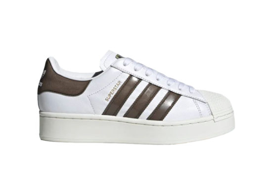 adidas Superstar Bold White Brown fv3356
