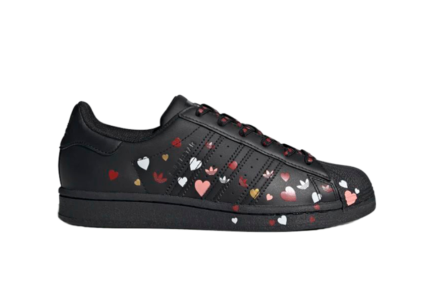 adidas Superstar Valentines Day Black fv3288