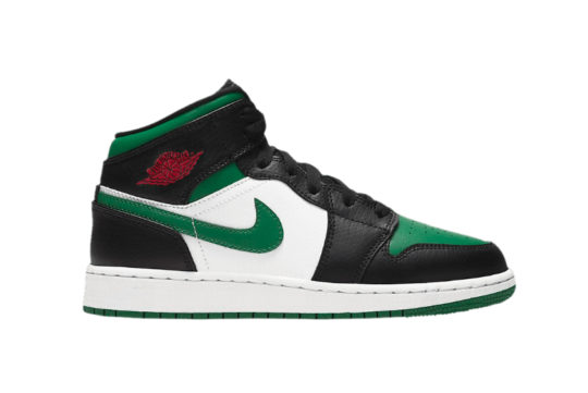 Jordan 1 Mid Pine Green Black 554725-067