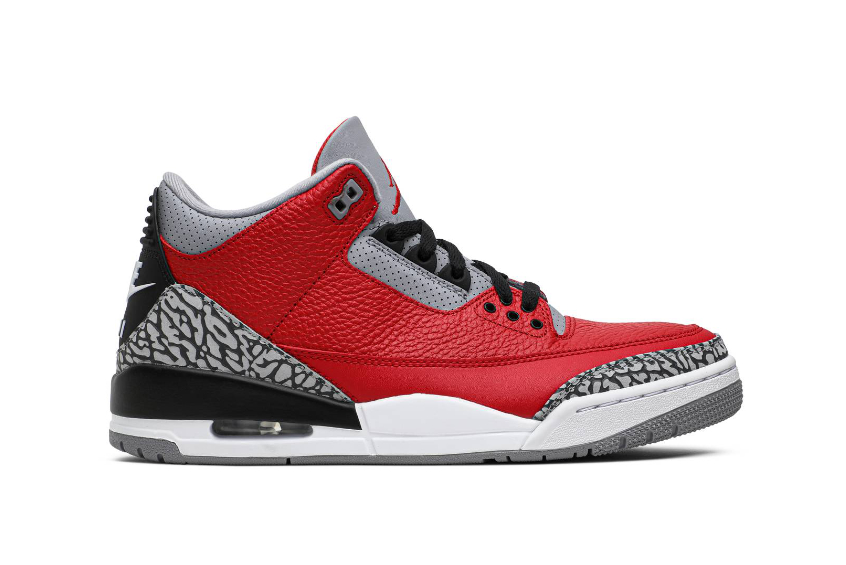 Nike Jordan 3 Chicago All-Star Cement Red cu2277-600