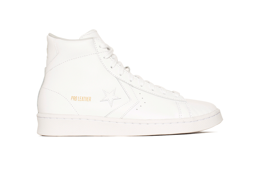 Converse Pro Leather Hi Chalk White 166810c