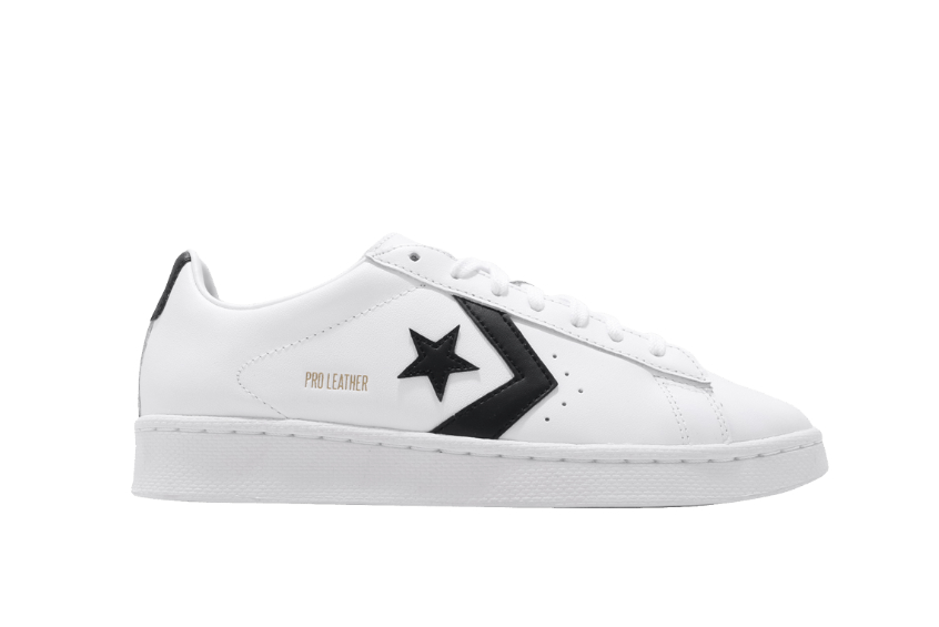 Converse Pro Leather Low Black White 167237c