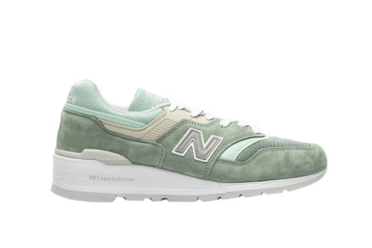 New Balance M997 SOB Light Green m997sob