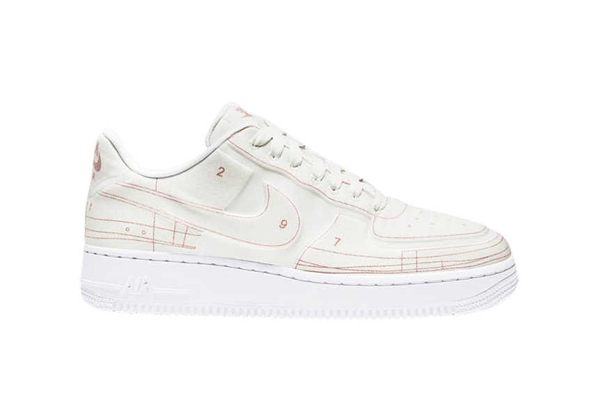 Nike W Air Force 1 Low « Schematic »