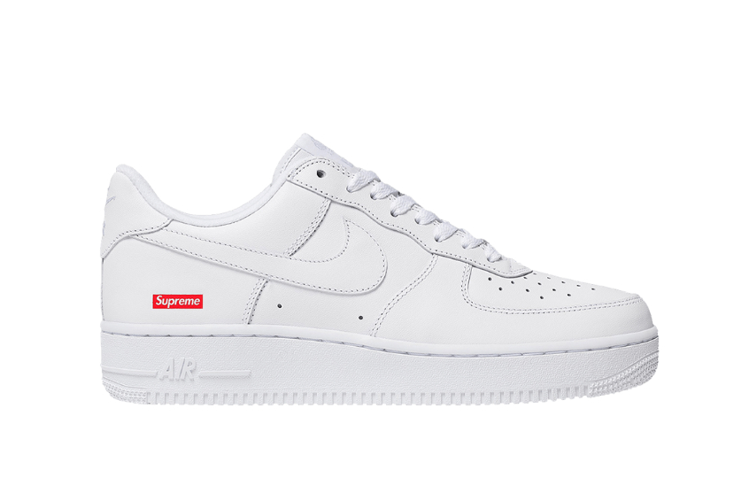 Supreme Nike Air Force 1 Low White : Release date, Price & Info