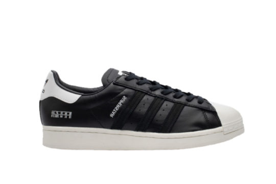 adidas Superstar Black Leather fv2809