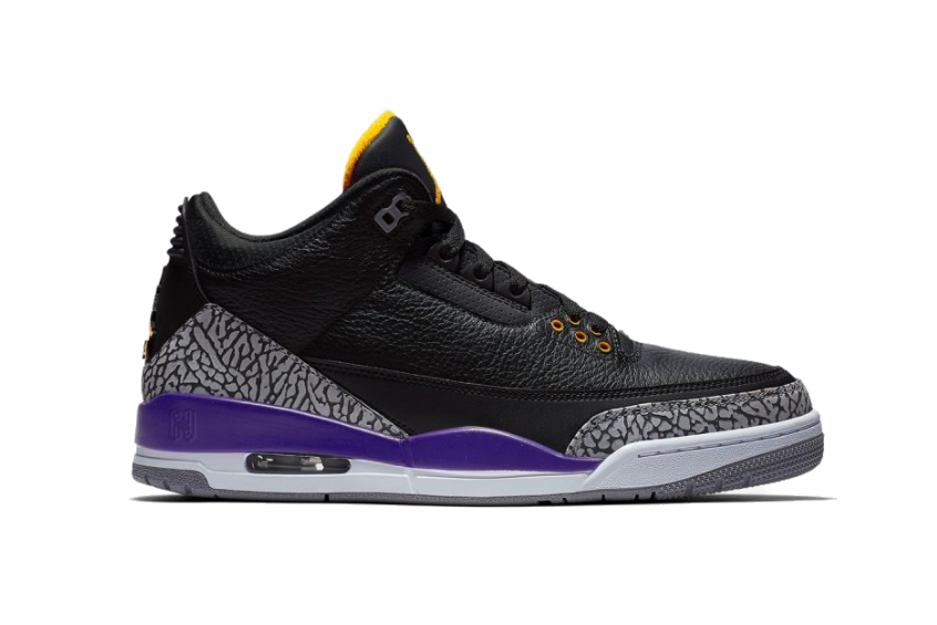 Air Jordan 3 Court Purple ct8532-050
