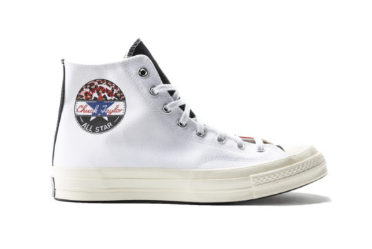 Converse All Star Chuck 70 White University Red 166747c