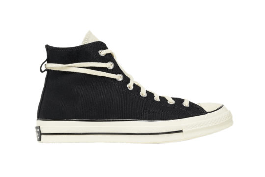 Fear of God x Converse Chuck 70 Hi Black Cream 167954c