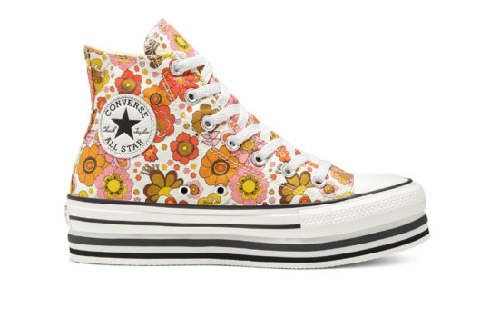 Unite Platform x Converse Chuck Taylor All Star High Top Egret Multi 568004c