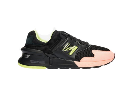 New Balance MS997 Black Lime ms997ki1