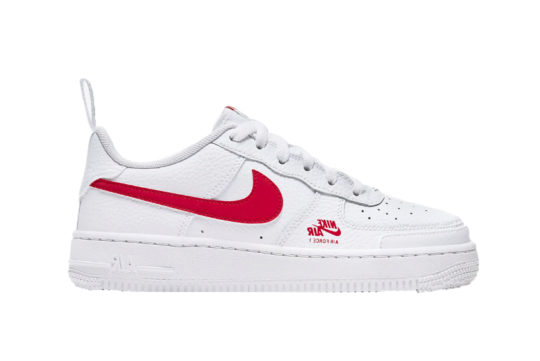 Nike Air Force 1 Utility White Red cz4203-100