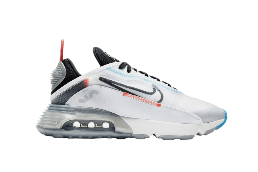 Nike Air Max 2090 Reflective White Black ct7695-100