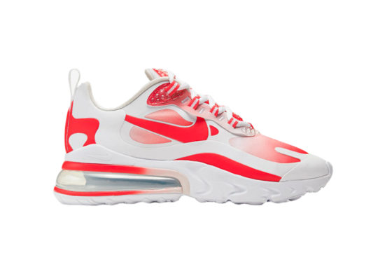 Nike Air Max 270 React Red White bv3387-100