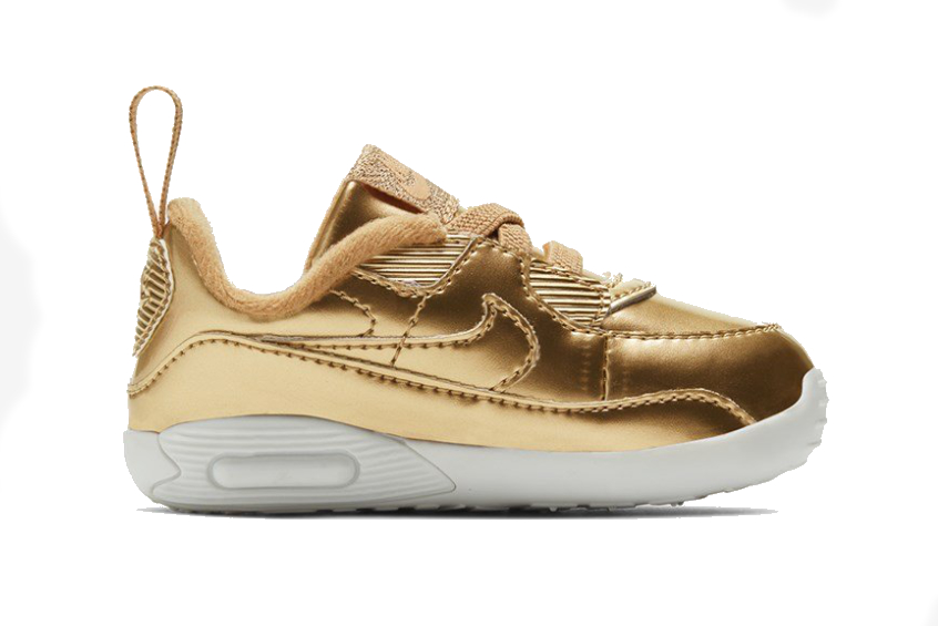 Nike Air Max 90 Crib QS Metalic Gold cv2397-700