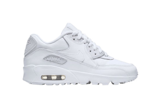 Nike Air Max 90 Leather Platinum 833412-100
