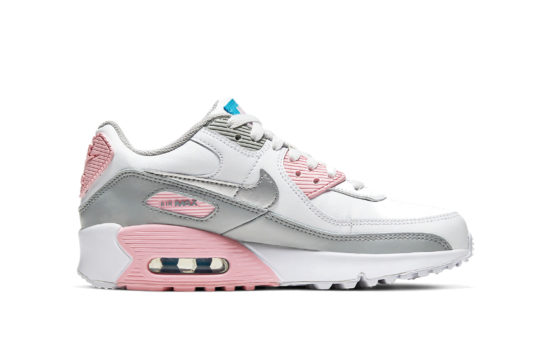 Nike Air Max 90 LTR Smoke Grey Pink cd6864-004