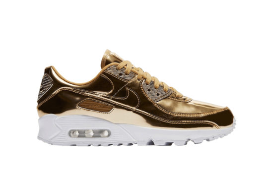 Nike Air Max 90 Metallic Pack Gold cq6639-700